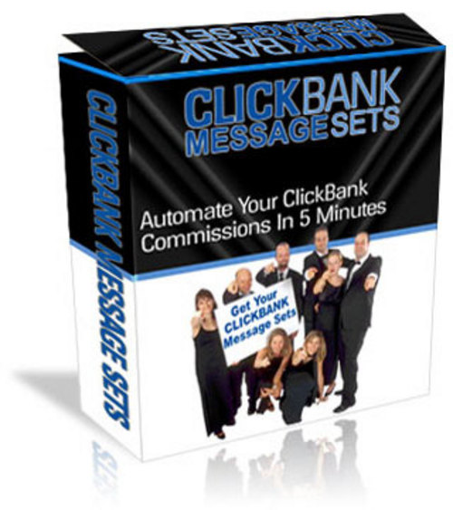Product picture Click Bank Message Sets for AutoResponder...